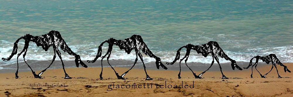 Giacometti reloaded 2010 - Lydia Stadler